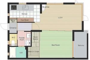エスポワールV 10※号室