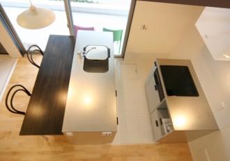 カノン401号室キッチン