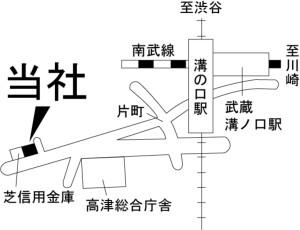 リビンズ地図