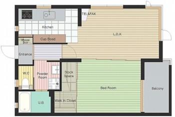 エスポワールV 室内図