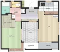 エスポワールL 室内図