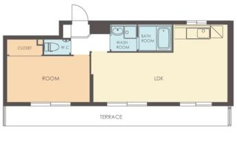 ガーデンヒルズ 室内図