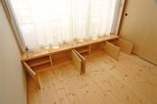 ギ・ヒュッゲ 寝室収納