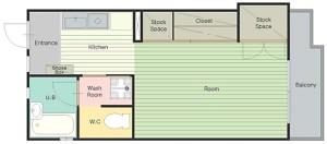 クラインミーア2 平面図