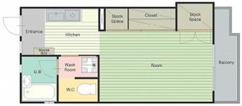 クラインミーア1 室内図